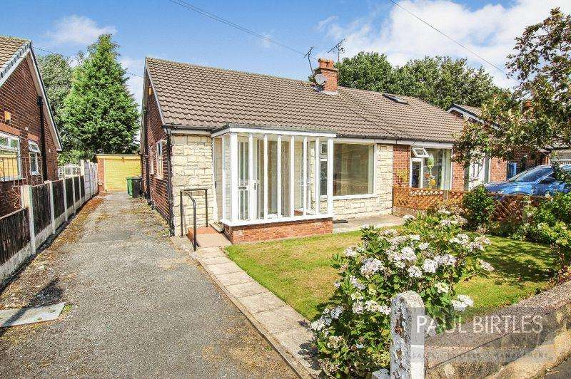 2 Bedrooms Semi Detached Bungalow for sale in Thirlmere Road, Partington, Manchester