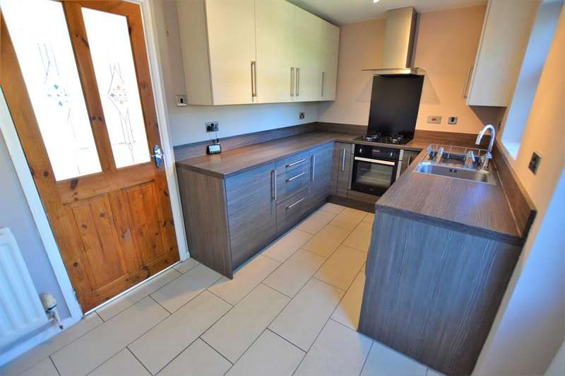 2 Bedrooms Semi Detached House for sale in Blackthorn Road, Glenfield, Leicester, LE3 8QP