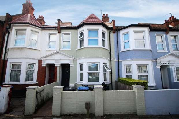 4 Bedrooms Terraced House for sale in Ambleside Road, London, Greater London, NW10 3UH