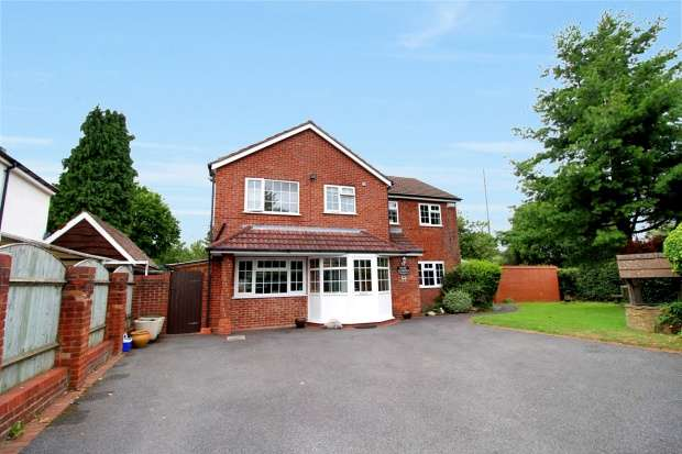 4 Bedrooms Detached House for sale in Creynolds Lane, Solihull, West Midlands, B90 4ER