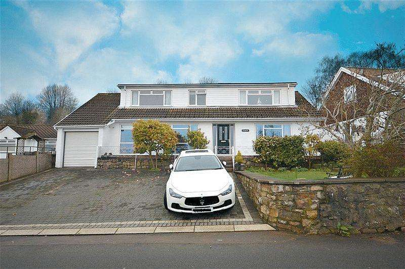 4 Bedrooms Detached House for sale in Leigh Road, Pontypool