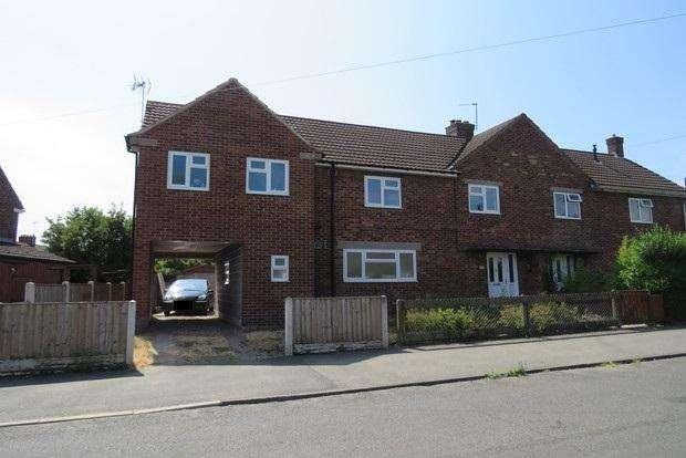 4 Bedrooms Semi Detached House for sale in Garden Road, Hucknall, Nottingham, NG15