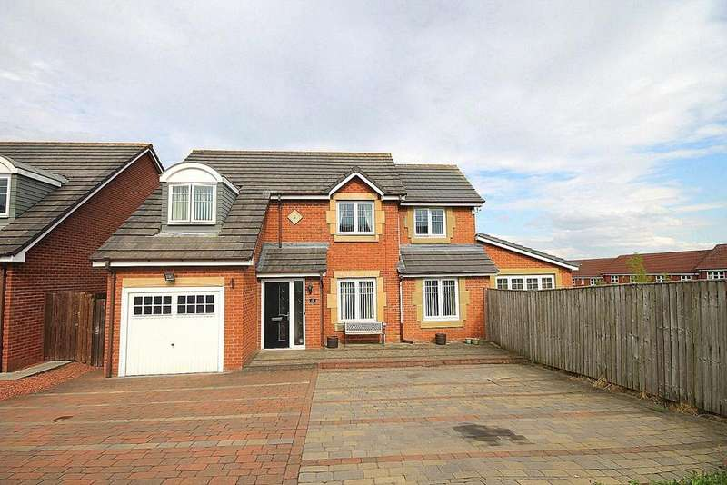 4 Bedrooms Detached House for sale in Snowball Close, Crook