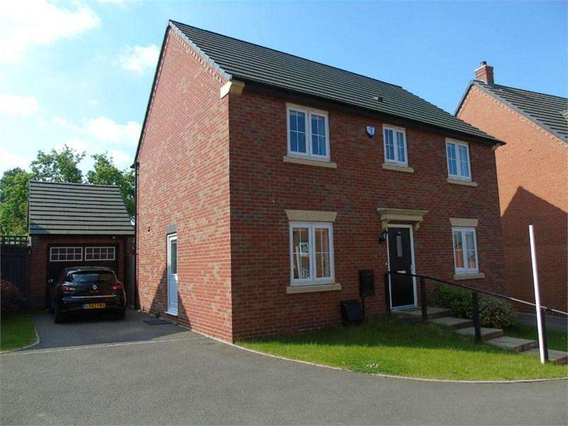 4 Bedrooms Detached House for sale in Cardinal Drive, Burbage