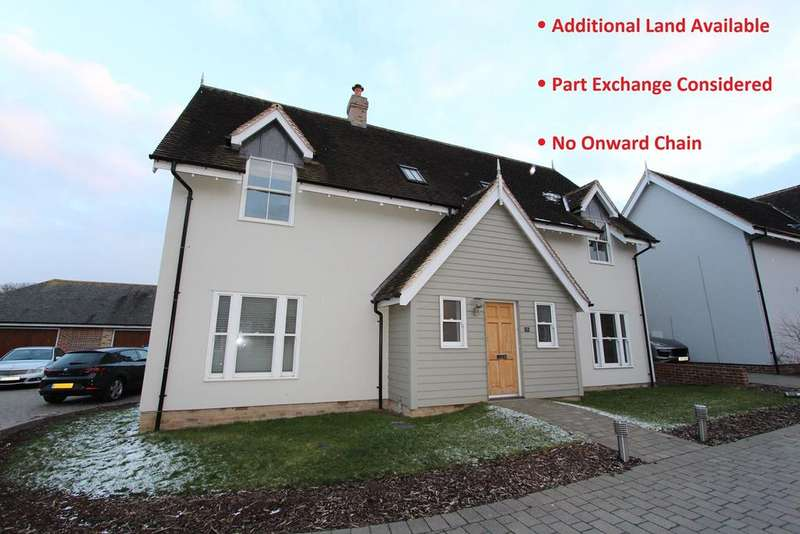 4 Bedrooms Detached House for sale in The Paddocks, Rettendon Common, Chelmsford, CM3