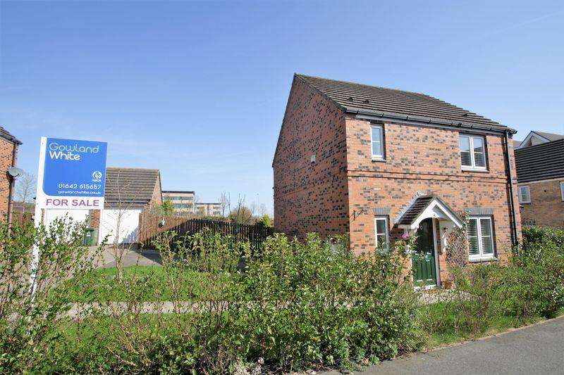 3 Bedrooms Detached House for sale in Sundew Court, Stockton, TS18 3UL