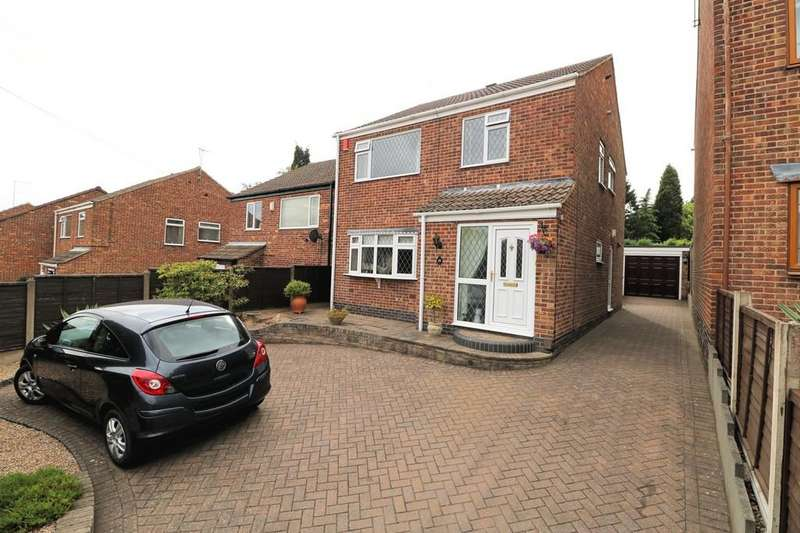 4 Bedrooms Detached House for sale in Manor Road, Donington Le Heath