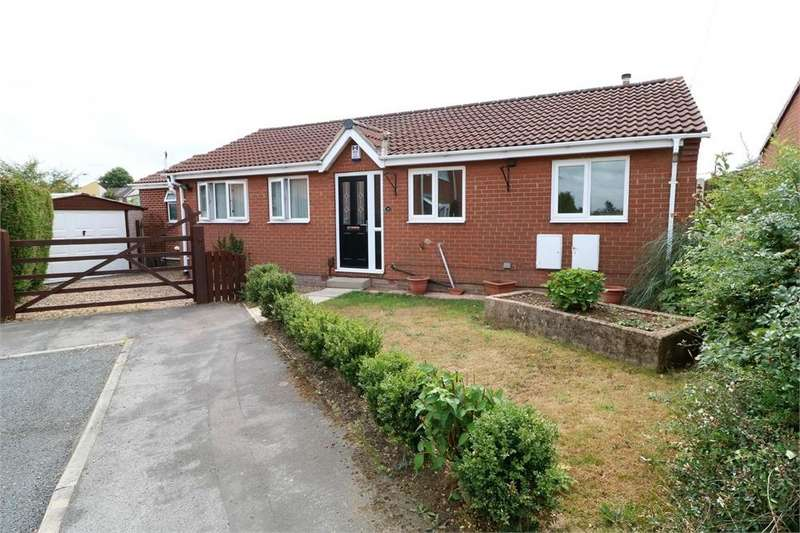 3 Bedrooms Detached Bungalow for sale in Holmoak Close, Swinton, Mexborough, South Yorkshire
