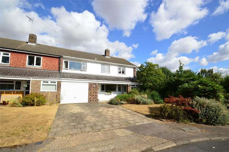 5 Bedrooms Semi Detached House for sale in Stag Green Avenue, HATFIELD, Hertfordshire