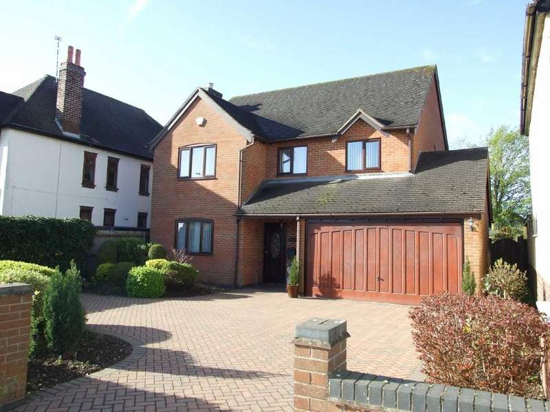 4 Bedrooms Detached House for sale in Rugby Road, Bulkington