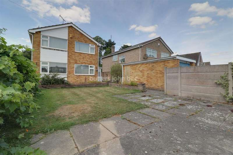 3 Bedrooms Detached House for sale in Sundale Drive, Woolstanwood, Crewe