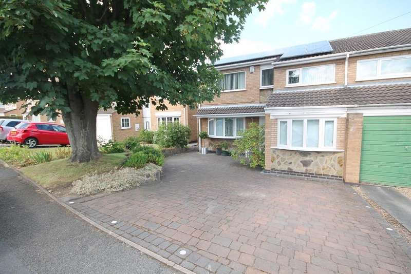 3 Bedrooms Semi Detached House for sale in Wylam Close, Glenfield, Leicester LE3