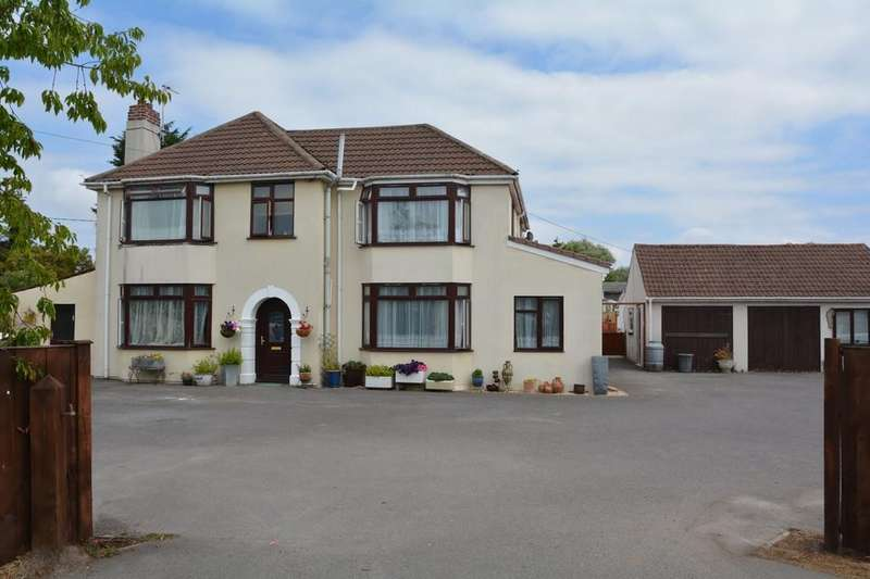 5 Bedrooms Detached House for sale in Bridgwater Road, Lympsham, Weston-super-Mare