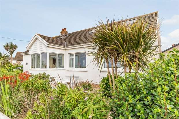 4 Bedrooms Detached Bungalow for sale in Llansantffraid, Llanon, Ceredigion