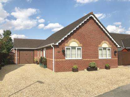 3 Bedrooms Bungalow for sale in Pilgrim Gardens, Fishtoft, Boston, Lincolnshire