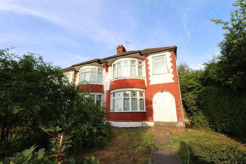 3 Bedrooms Semi Detached House for sale in Barnet Way, London, London, NW7 3AN