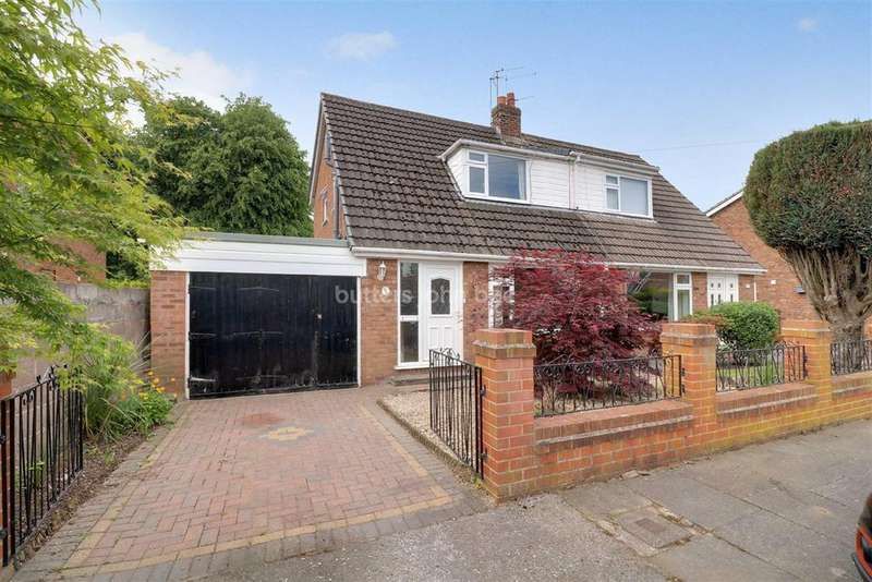 3 Bedrooms Semi Detached House for sale in Sandyhill Place, Winsford