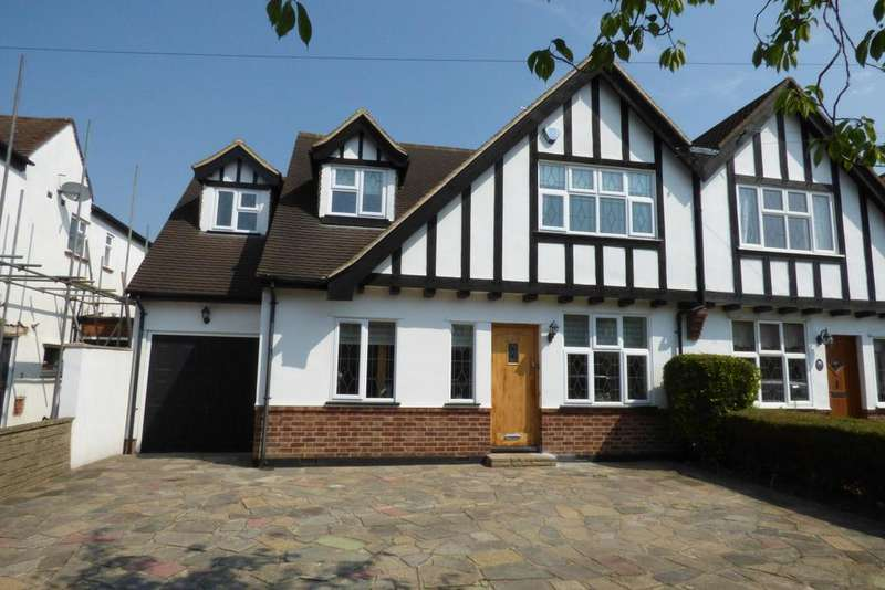4 Bedrooms Semi Detached House for sale in Springfield Gardens, Upminster RM14