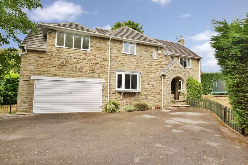 5 Bedrooms Detached House for sale in Crescent View, Alwoodley, Leeds