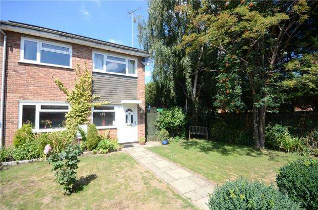 3 Bedrooms End Of Terrace House for sale in Primrose Close, Purley on Thames, Reading