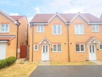 3 Bedrooms Semi Detached House for sale in Transporter Way, Middlesbrough