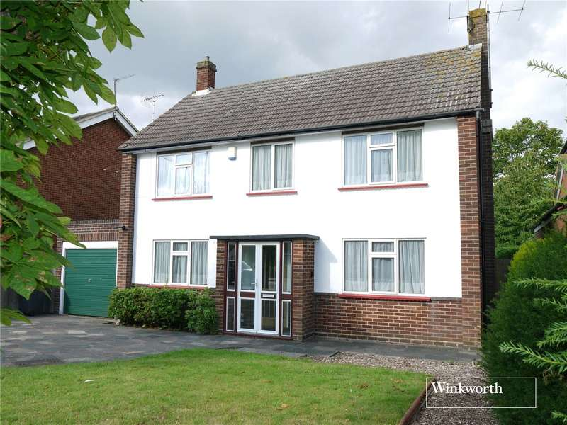 3 Bedrooms Detached House for sale in Furzehill Road, Borehamwood, Hertfordshire, WD6
