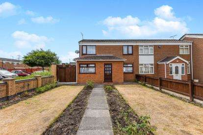 3 Bedrooms End Of Terrace House for sale in Brooks Croft, Castle Vale, Birmingham, West Midlands