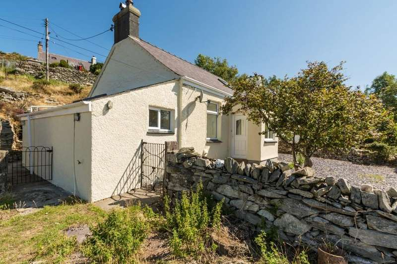 2 Bedrooms Detached House for sale in Talysarn, Caernarfon, North Wales