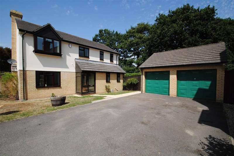 4 Bedrooms Detached House for sale in Kestrel Way, Barnstaple