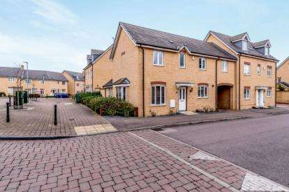 3 Bedrooms Link Detached House for sale in Maskell Drive, Bedford, Bedfordshire