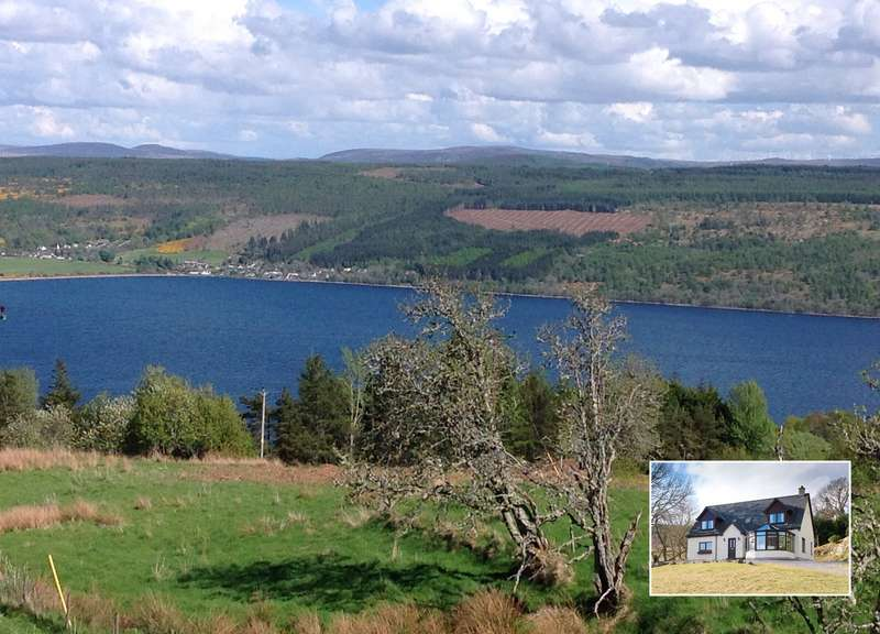 5 Bedrooms Detached House for sale in Balchraggan Croft, Abriachan, Inverness, IV3