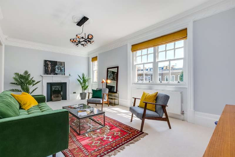 3 Bedrooms Flat for sale in Elgin Avenue, Maida Vale