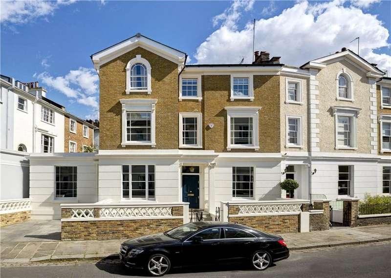 4 Bedrooms Semi Detached House for sale in St Marks Crescent, Primrose Hill, London, NW1