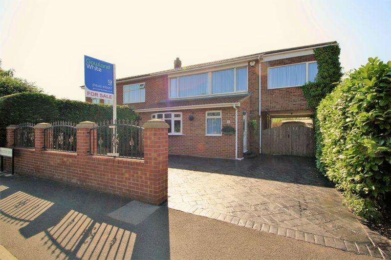4 Bedrooms Semi Detached House for sale in Malcolm Drive, Fairfield, Stockton, TS19 8TH
