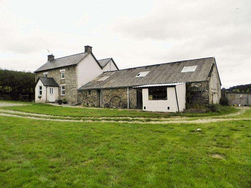 4 Bedrooms Detached House for sale in Penrallt Goch, Newchapel, Boncath