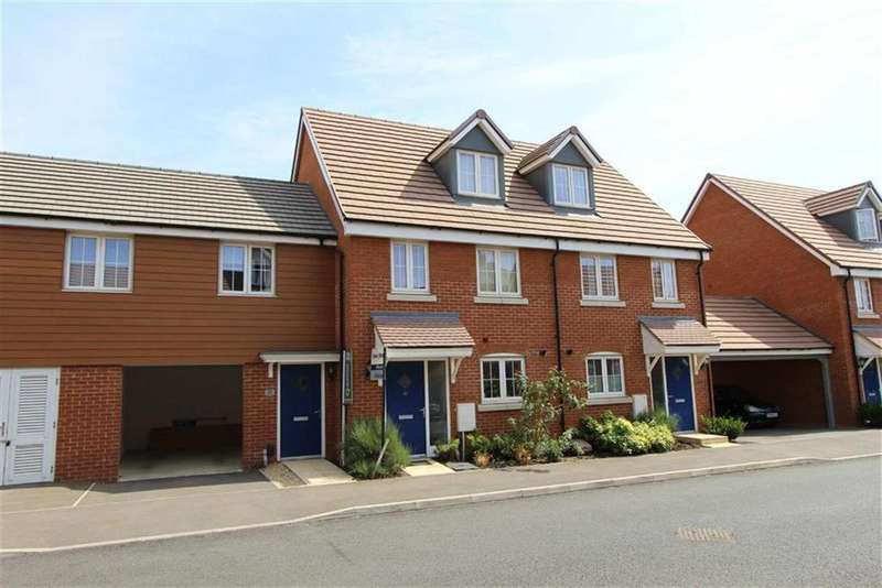 3 Bedrooms Town House for sale in Copia Crescent, Leighton Buzzard