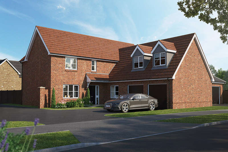 5 Bedrooms Detached House for sale in The Nailsworth, Chapel End Road, Houghton Conquest, MK45