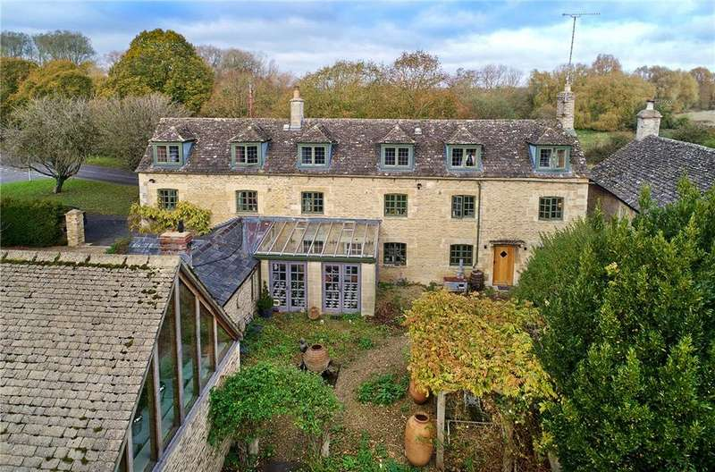 5 Bedrooms House for sale in Broughton Poggs, Filkins, Lechlade, Oxfordshire, GL7