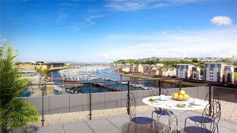 3 Bedrooms Penthouse Flat for sale in Bayscape, Cardiff Marina, Watkiss Way, Cardiff, CF11