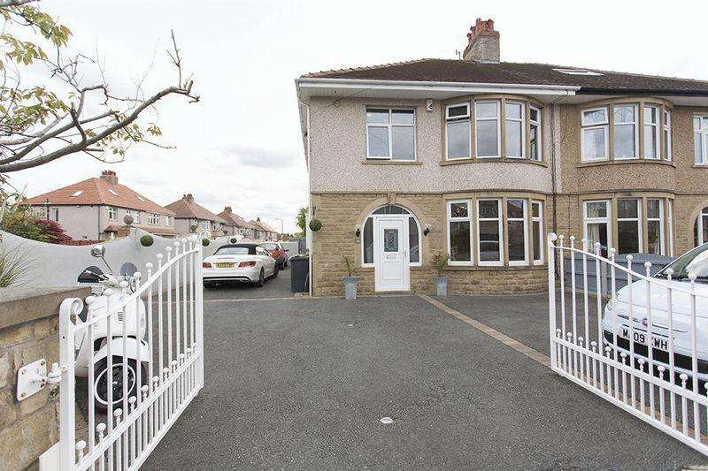 3 Bedrooms Semi Detached House for sale in Stuart Avenue, Bare, Morecambe