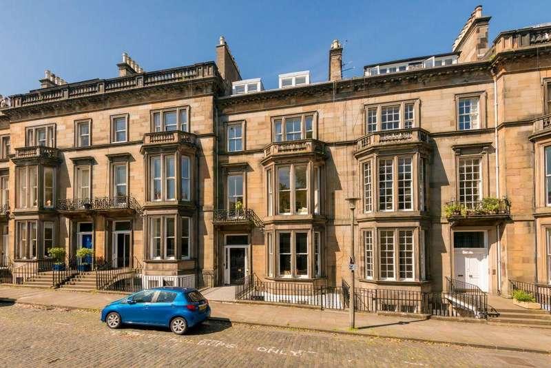 3 Bedrooms Maisonette Flat for sale in 7 2FL, Buckingham Terrace, West End, Edinburgh, EH4 3AB