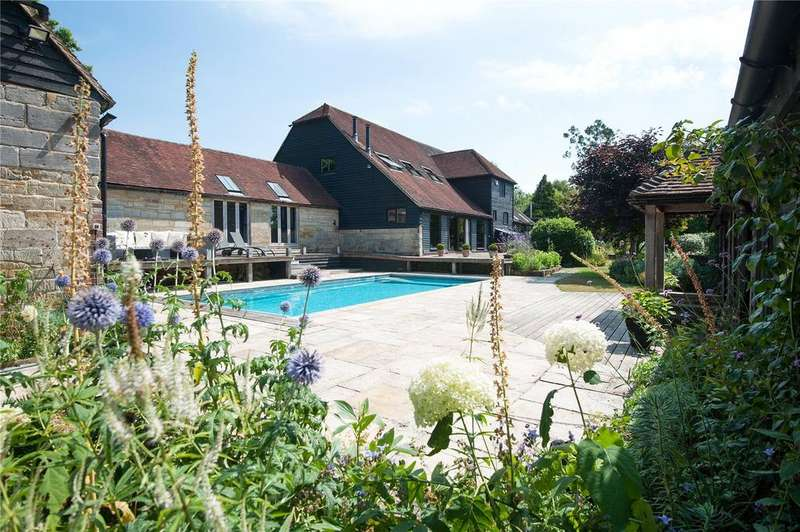 5 Bedrooms Barn Conversion Character Property for sale in Park Farm Lane, Maresfield, East Sussex