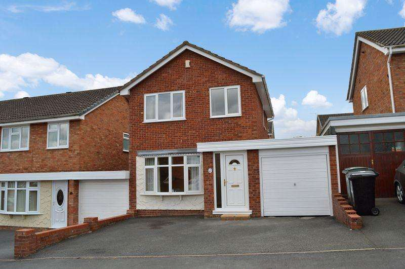 3 Bedrooms Detached House for sale in Redfield Close, Broseley, Shropshire.