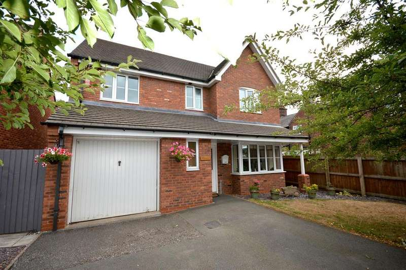 4 Bedrooms Detached House for sale in John Ford Way, Arclid, Sandbach