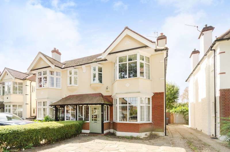 4 Bedrooms Semi Detached House for sale in Coombe Lane, Raynes Park, SW20