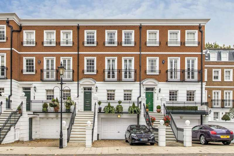5 Bedrooms House for sale in St Mary`s Place, Kensington Green, London, W8