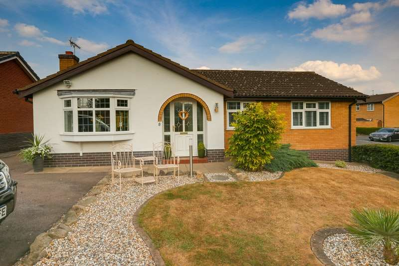 3 Bedrooms Bungalow for sale in Archer Close, Loughborough, Leicestershire, LE11