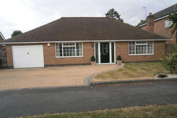 2 Bedrooms Detached Bungalow for sale in Barry Drive, Kirby Muxloe, Leicester, LE9