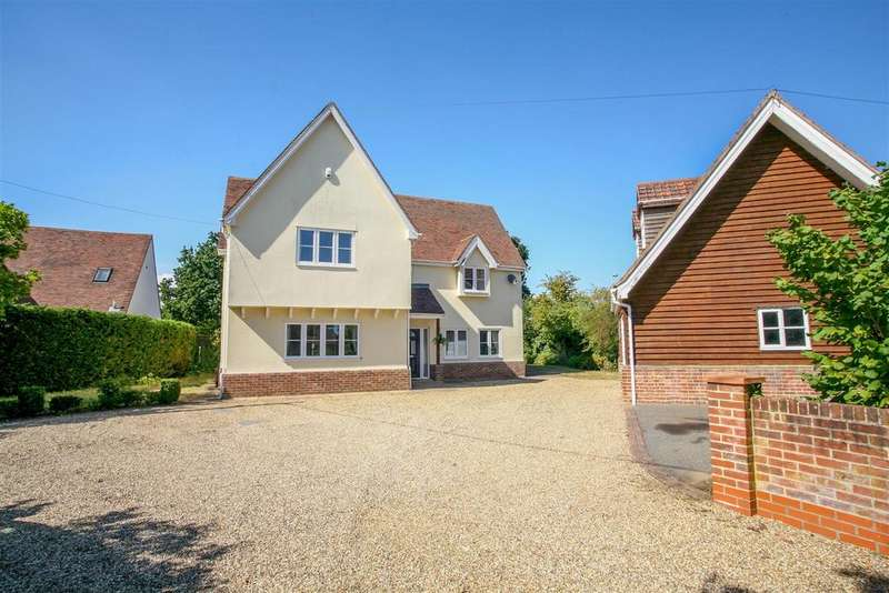 4 Bedrooms Detached House for sale in Ipswich Road, Woodbridge