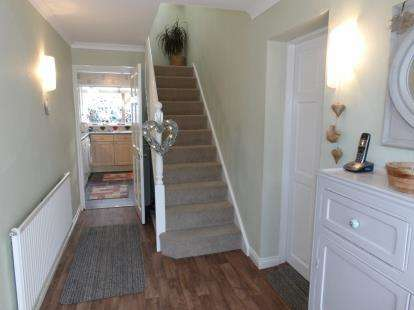 3 Bedrooms Semi Detached House for sale in Grange Close, Newbold Verdon, Leicester, Leicestershire
